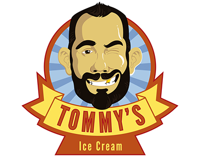 Dormero Hotels / Tommy's Ice Cream Logo design
