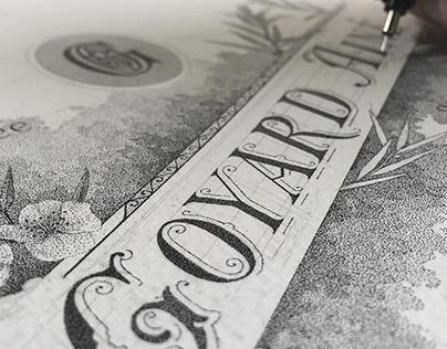 E. Goyard Ainé - Hand lettering & Illustration