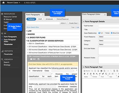 USPTO TMNG - Trademark Next Gen - Form Paragraph Editor