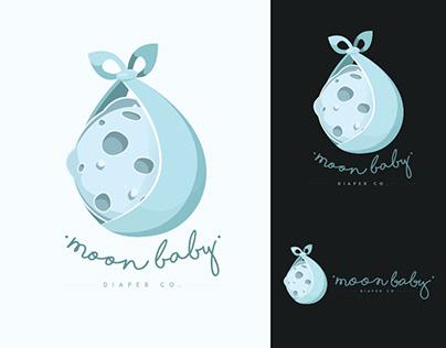 Moon Baby Diaper Co. — Logo