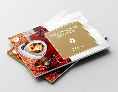 Katalog für Lofthouse Catering Weihnachten (2019)