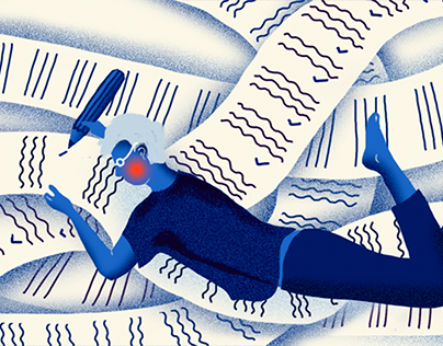Editorial Illustration for ASIL.sk