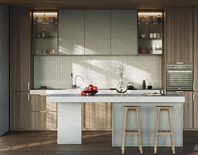 Modern Kitchen | CGI Visualization