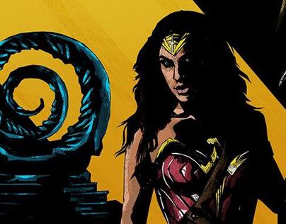 Wonder Woman - Poster Posse