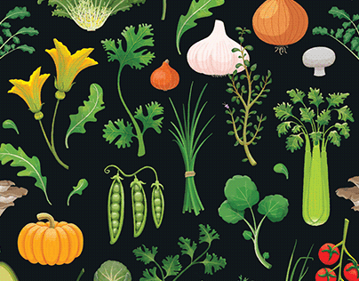 Fruits & Vegetables Seasonal Calendar