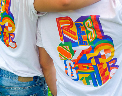Resist Together: Canva Tee For Pride March