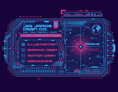 - HOLOGRAPHIC INTERFACE - Motion Design