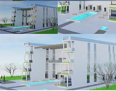 3D model Architecture / concept vizualisation