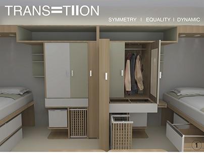 Whitestone Rehabilitation Center-Shared Bedroom Design