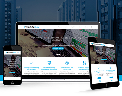 Knowledge Relay   Website & Branding