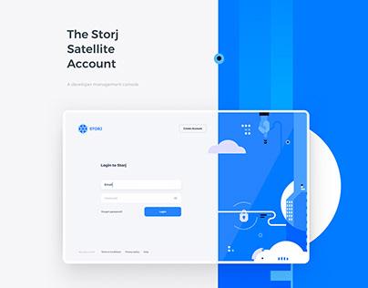 Storj Satellite - Management System