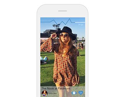 social media app redesign