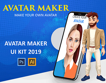 Avatar Maker UI Kit