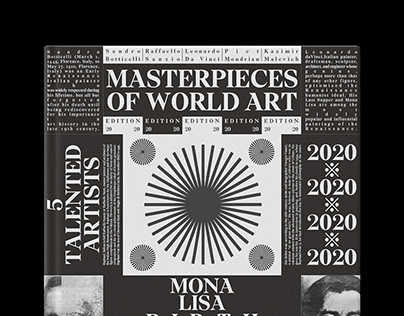 Masterpieces of World Art / Magazine