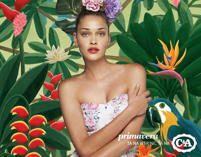 C&A illustrations for Advertising Campaign
