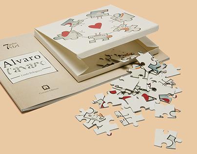 ALVARO L'AVARO _ children's puzzlebook
