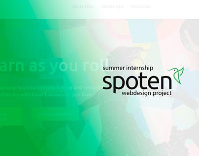 Spoten App Website