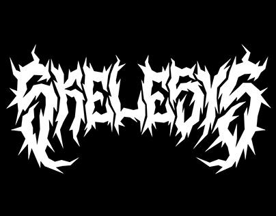 """Skelesys"" lettering for RRC"
