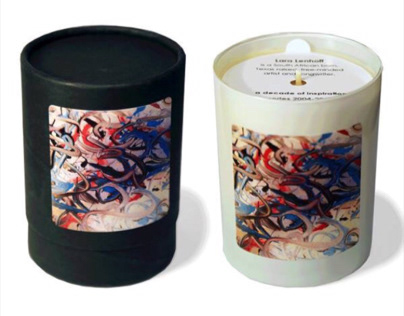 Artsy Monkey Scented Aromatherapy Candles
