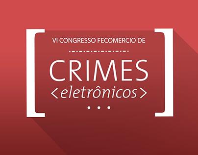 FECOMÉRCIO: CRIMES ELETRÔNICOS