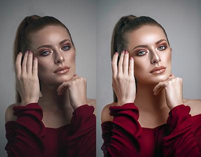 Beauty Retouch || Color Correction