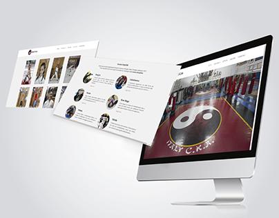Sviluppo Website Scuola Kung Fu