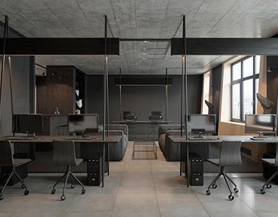 Modern office interior by Zooi design studio