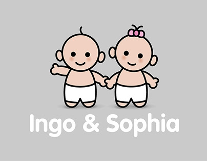 Ingo & Sophia | Birth Announcement Cards