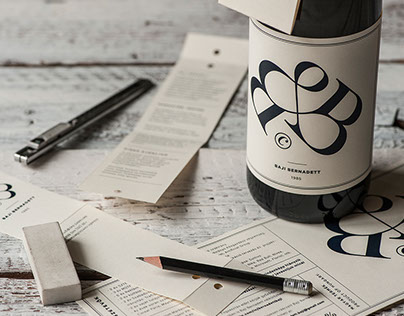 Bernadett Baji's wine label CV / 2015