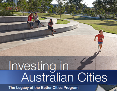 Academic report design for QUT - Australian Cities