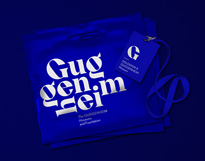 Guggenheim Museums and Foundation rebranding / 2019