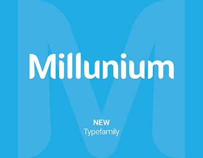 Millunium - Typeface