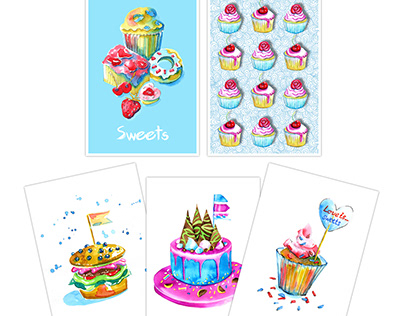 Sweet-Sweetcards collection