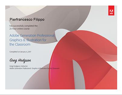 Adobe Generation Professional: Graphics & Illustration