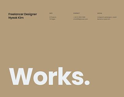 Freelancer Designer Portfolio 2021