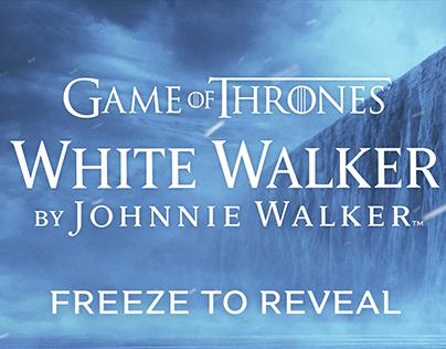 Johnnie Walker GoT Winter Walker Digital Out of Home