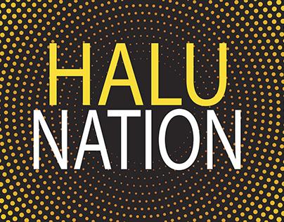 HALU NATION LOGO