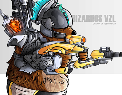 Graphic Of Destiny Bear