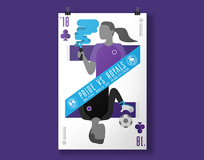 Orlando Pride Gameday Poster
