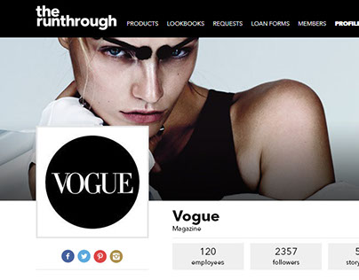 TheRunThrough | Profile page