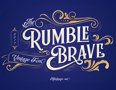 RUMBLE BRAVE - FREE DISPLAY FONT