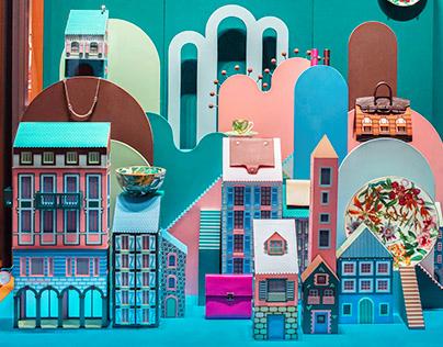 Hermès Lugano - La ville