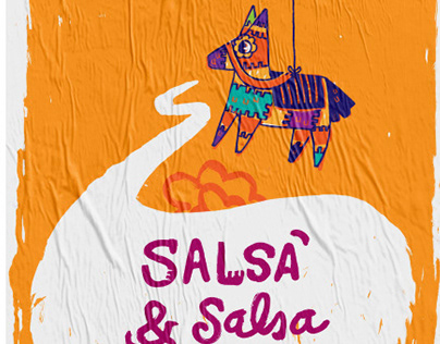 Salsa y salsa | Poster Design