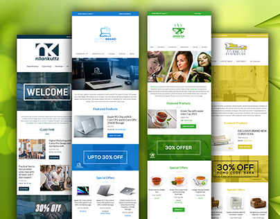 RESPONSIVE EMAIL TEMPLATE/NEWSLETTER DESIGN