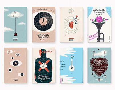 MILAN KUNDERA   BOOK COVERS