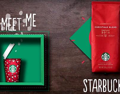 Starbucks Motion Graphics, Meet me at Starbucks