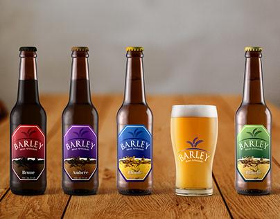 Barley Beer - Logo & Label