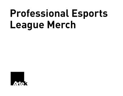 Professional Esports League Merch