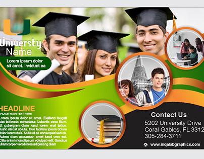 university brochure template Free download