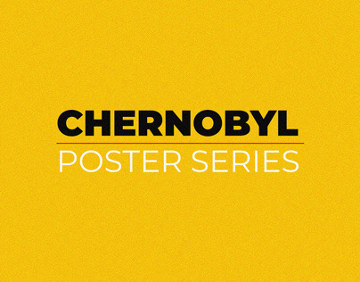 Poster Designs for Chernobyl TV Series